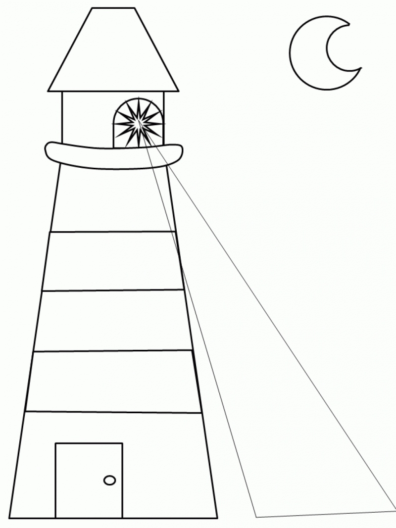 800x1067 Inspirational Lighthouse Coloring Pages Logo And Design Ideas