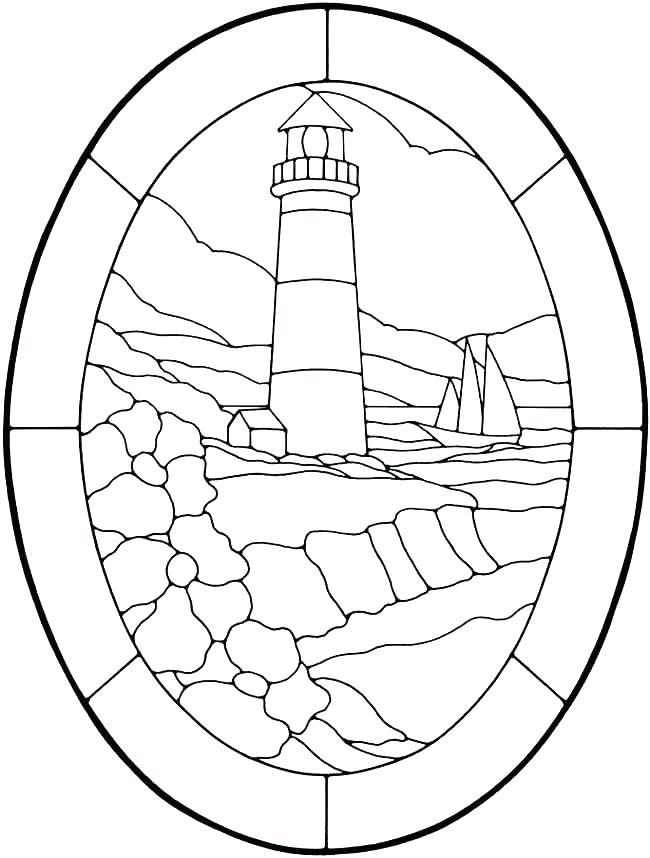 650x858 Lighthouse Coloring Pages Lighthouse Coloring Page Amazing
