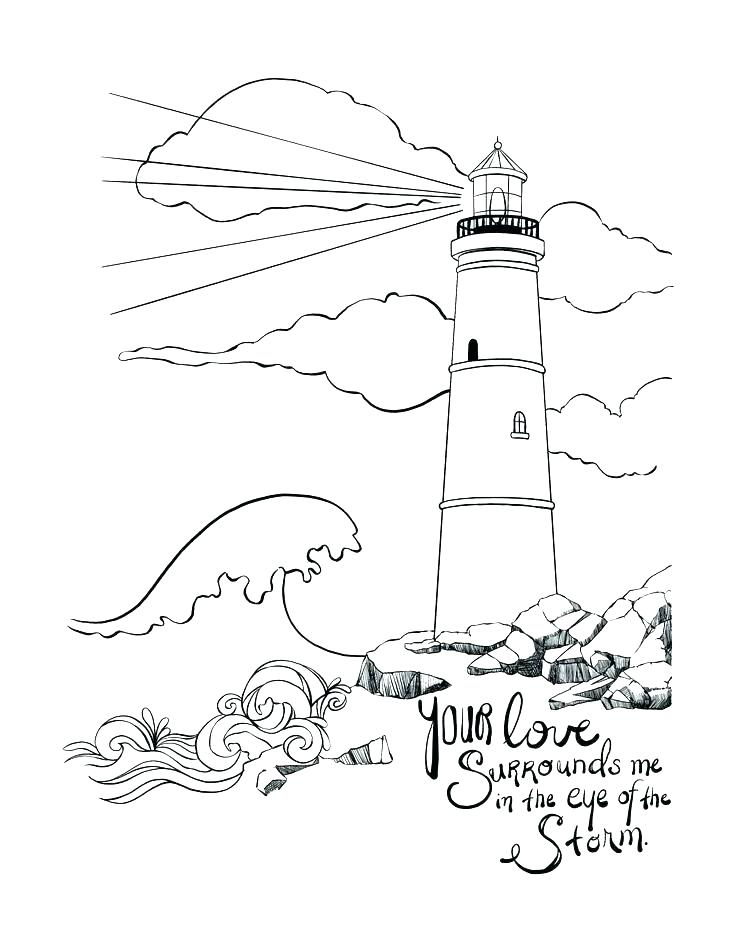 736x952 Lighthouse Coloring Book Pages Realistic Animal Coloring Pages