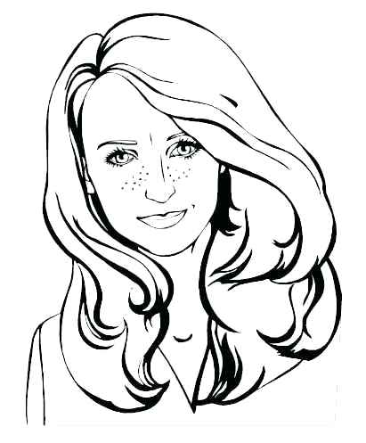 411x497 Female Coloring Pages Female Lion Coloring Page Female Superhero