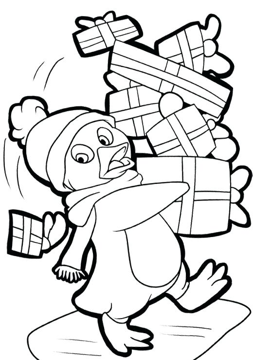 520x738 Penguin Adult Coloring Pages Gallery Of Awesome Penguin Color