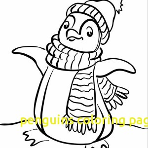300x300 Penguins Coloring Pages With Penguins Coloring Page Tacky