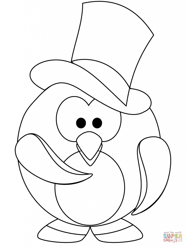 774x1024 Printable Penguin Coloring Pages For Winter Sensational Page