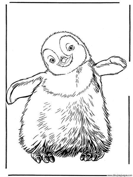 450x600 Dibujo De Pinguino