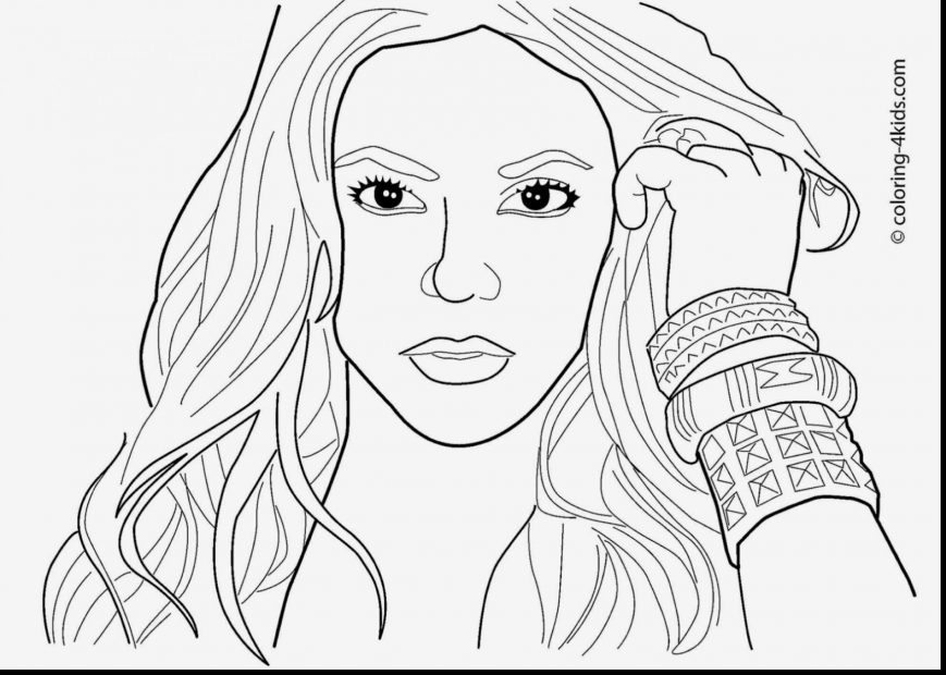 869x620 Celebrity Coloring Pages Pictures Highest Quality To Print Online