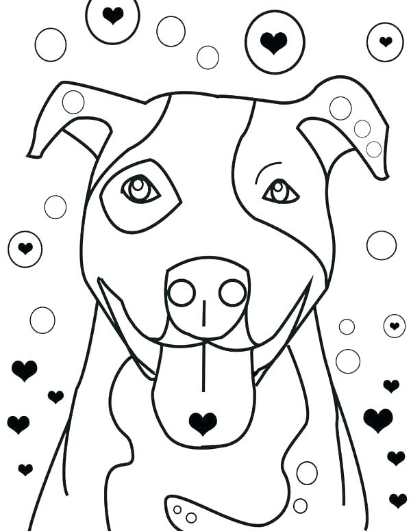 600x776 Pitbull Coloring Pages Coloring Page Coloring Pages Is Falling
