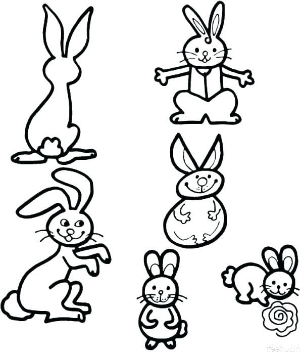 600x700 Cute Bunny Coloring Pages Unique Design Bunny Coloring Page
