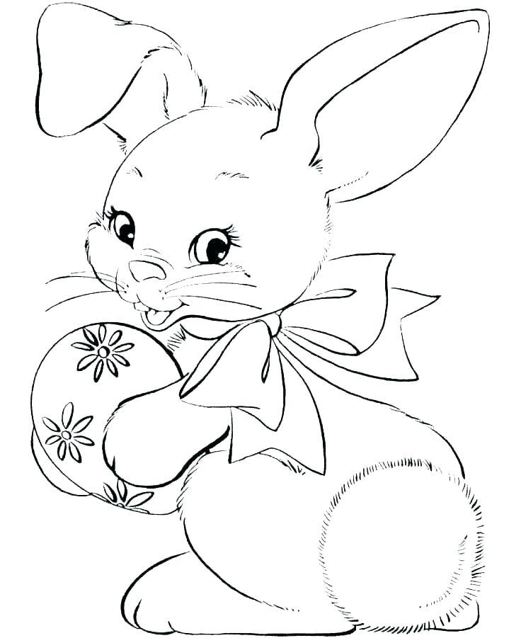 736x901 Rabbit Coloring Pages Printable Enjoy Coloringnimals Coloring