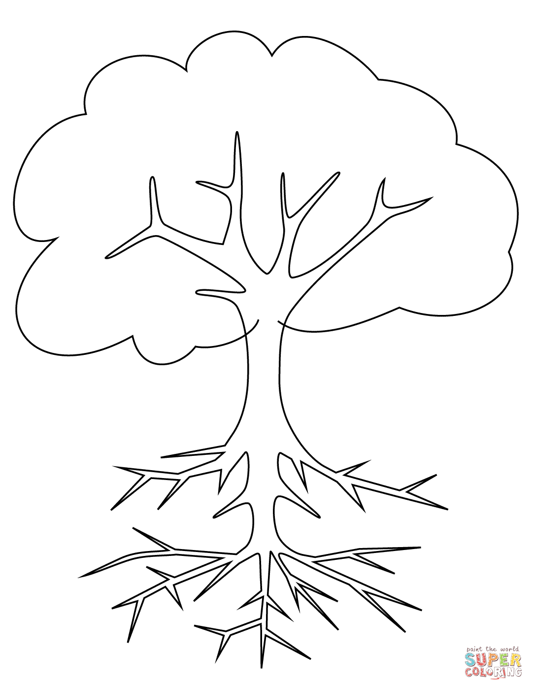 1082x1400 Roots Coloring Pages