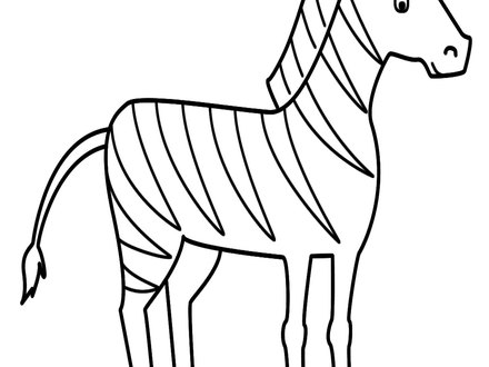 Realistic Zebra Coloring Pages At Getdrawings Com Free For