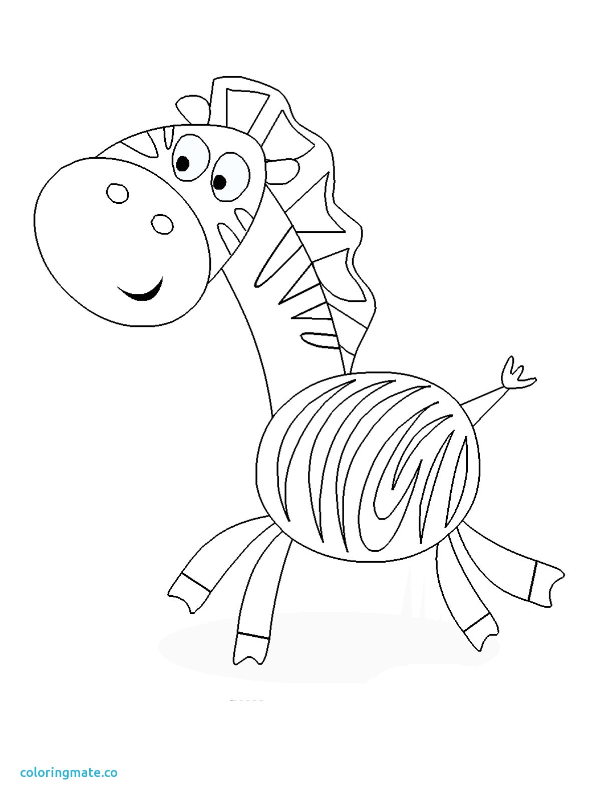 1200x1600 Zebra Coloring Page Best Of Zebra Coloring Pages To Print