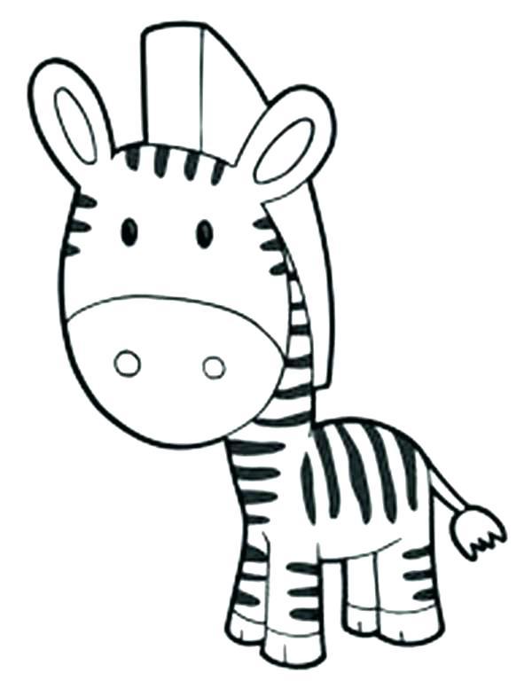 600x777 Zebra Coloring Pages Cheap Realistic Animal Zebra Good Zebra