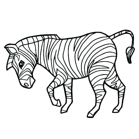 450x450 Zebra Coloring Picture Zebra Coloring Pages To Print Realistic