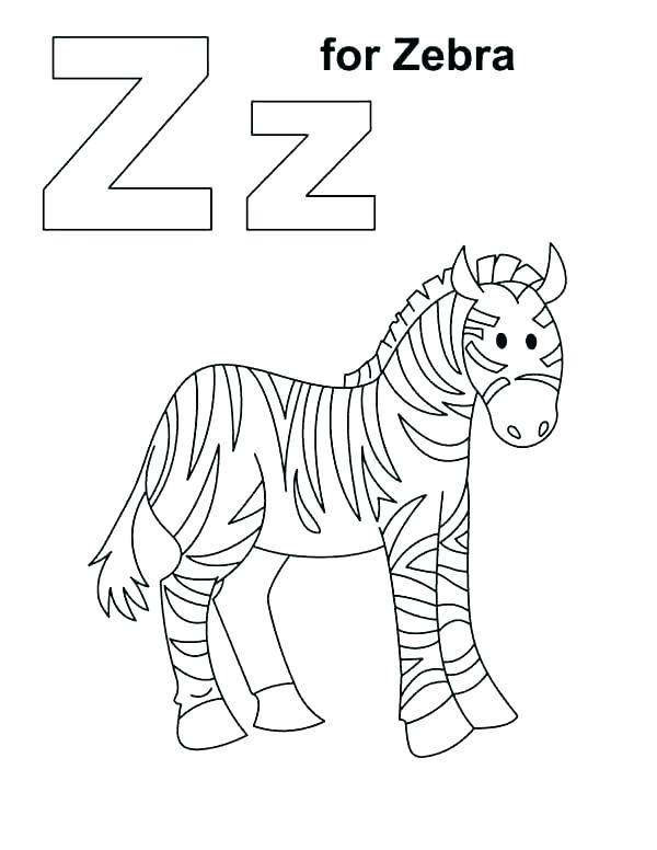 600x776 Coloring Pages Of Zebras Realistic Zebra Coloring Pages Coloring
