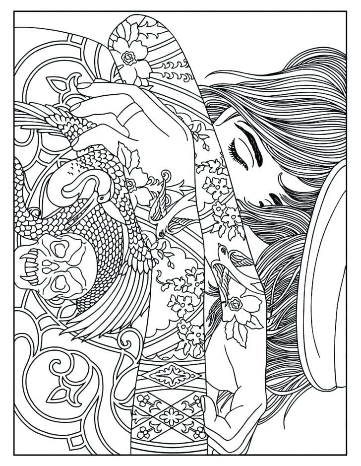 728x939 Very Detailed Coloring Pages Medium Size Of Very Detailed Coloring