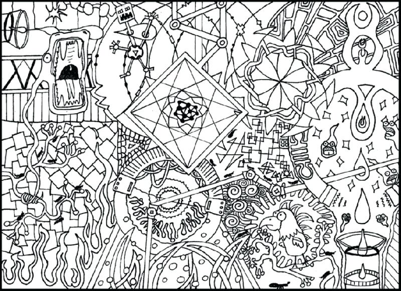 800x581 Hard Flower Coloring Pages Really Hard Coloring Pages Bird