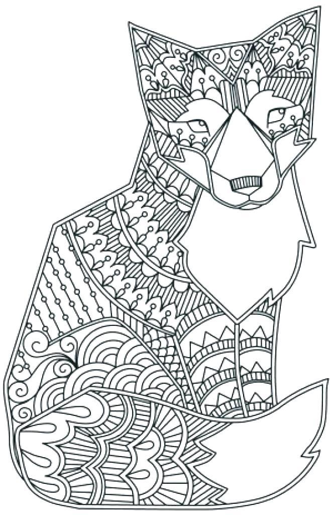 663x1024 Animal Mandala Coloring Pages Animal Coloring Pages Really Hard