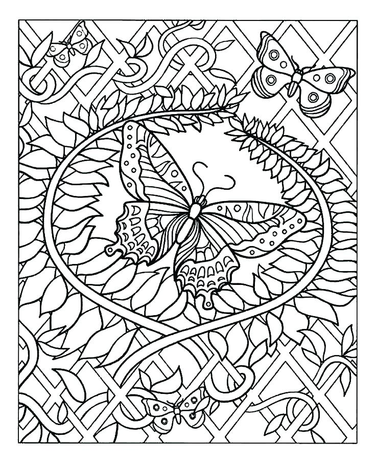 736x907 Very Hard Coloring Pages Really Hard Color