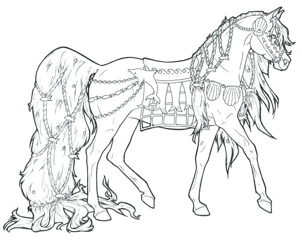 600x476 Horse Coloring Page Horse Coloring Pages To Print Horses Printable
