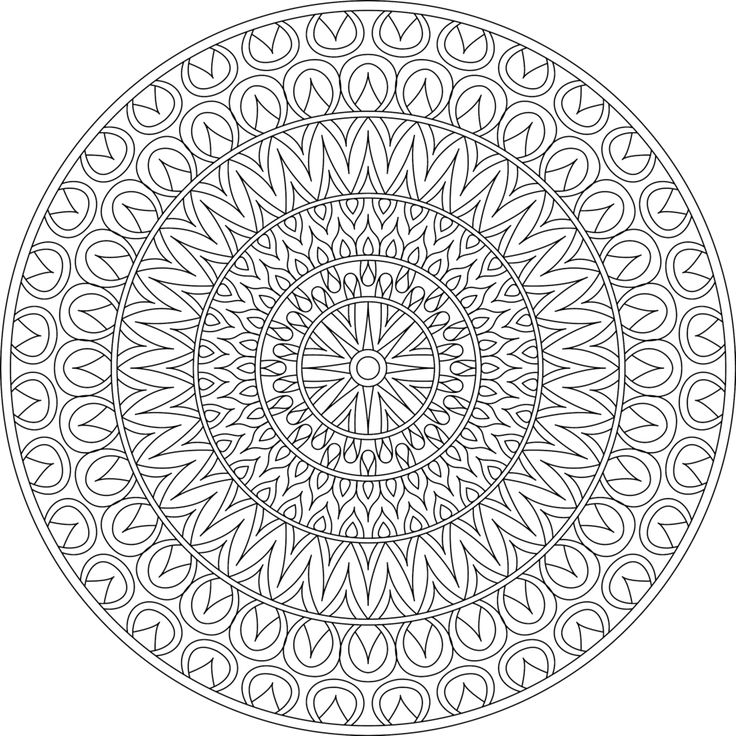 Record Coloring Page