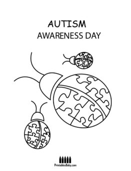 262x340 Autism Awareness Day Coloring Pages Archives