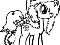 200x150 Record Coloring Page Awesome My Little Pony Christmas Coloring