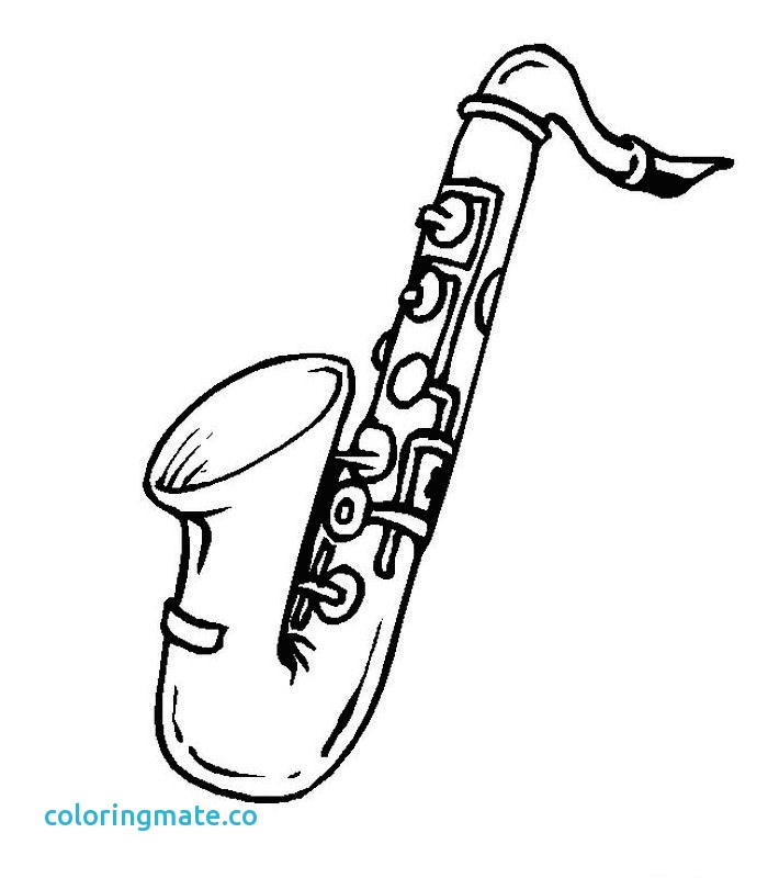 700x800 Instrument Coloring Pages Lovely Recorder Instrument Coloring Page