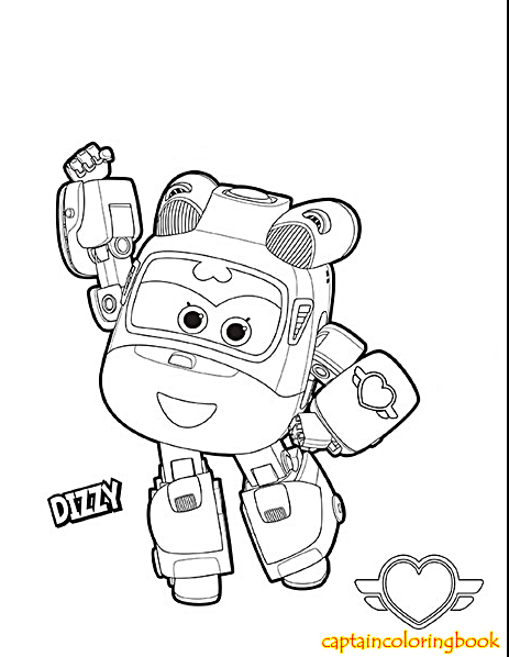 463x598 Super Wings Coloring Pages Free