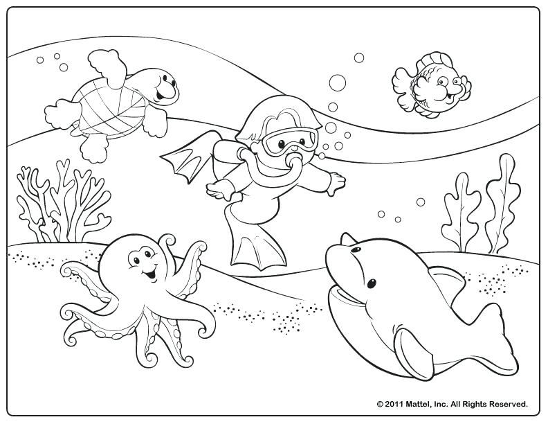 792x612 The Truth About Summer Coloring Pages For Preschoolers Kids Color