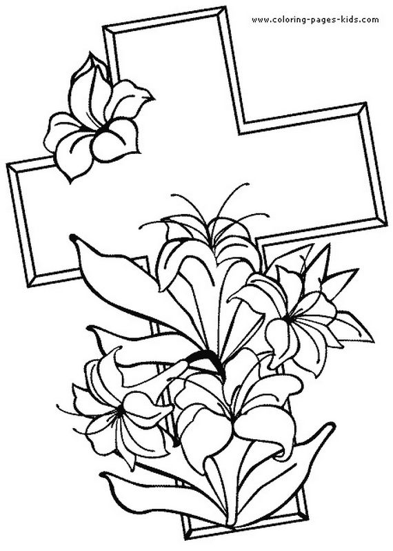 570x798 Good Friday Coloring Pages And Pintables For Kids