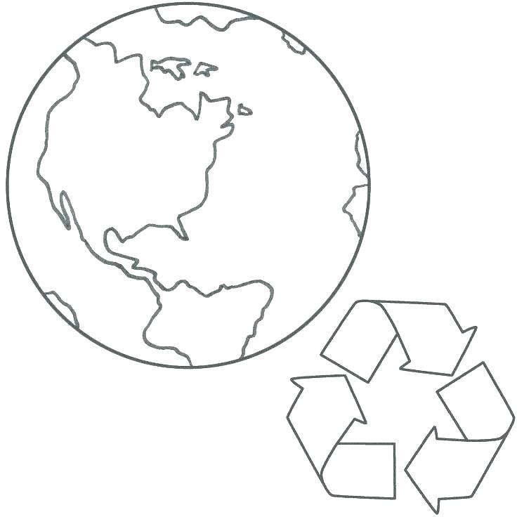 736x736 Recycle Coloring Pages Recycling Coloring Pages Planet Earth