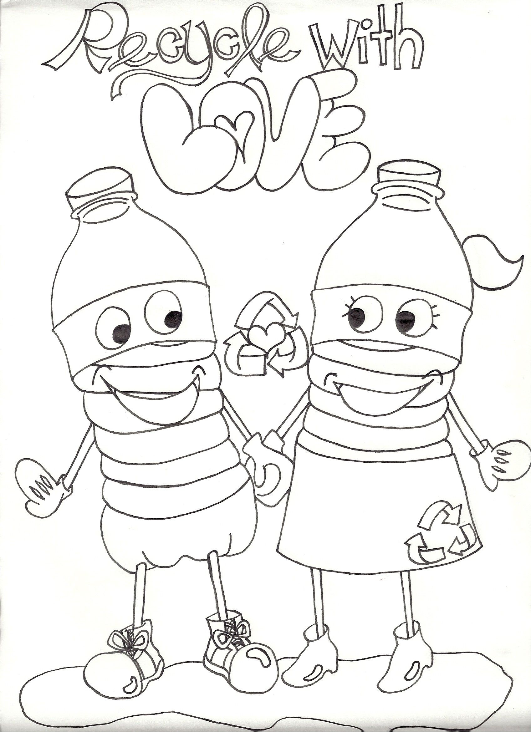1697x2340 Eco Recycle Coloring Pages For Kids New Recycle Sign Earth