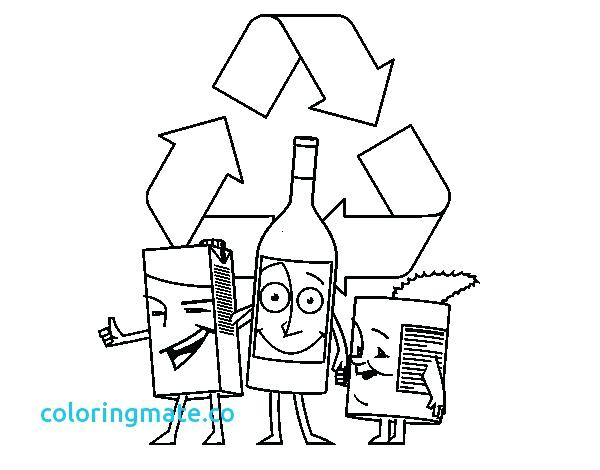 600x470 Recycling Coloring Page Recycle Symbol Coloring Page Recycling Bin