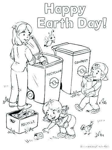 369x492 Recycle Coloring Pages Recycling Coloring Page Recycling Coloring