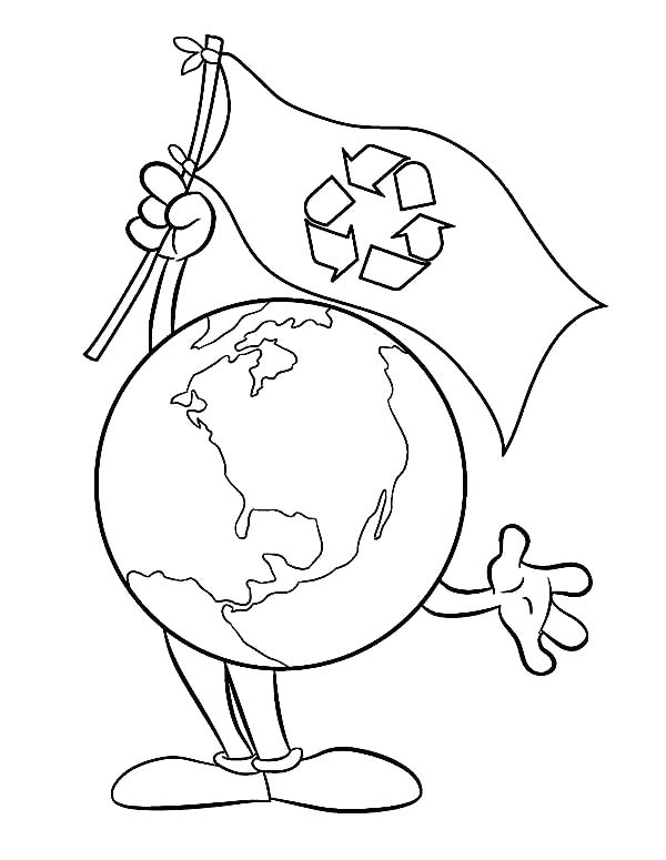 600x775 Recycling Coloring Recycling Coloring Pages Activity
