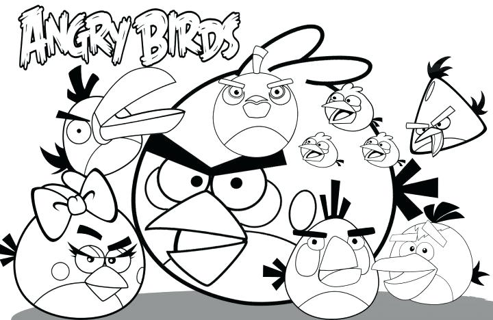720x468 Coloring Pages Coloring Birds Pictures Angry Birds Angry Birds