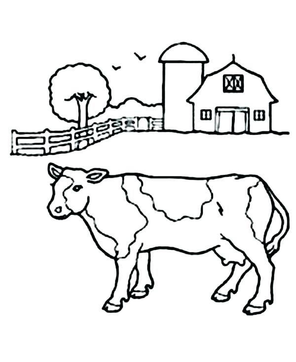 600x733 Barn Coloring Page Barn Coloring Page Stable Coloring Page Horse