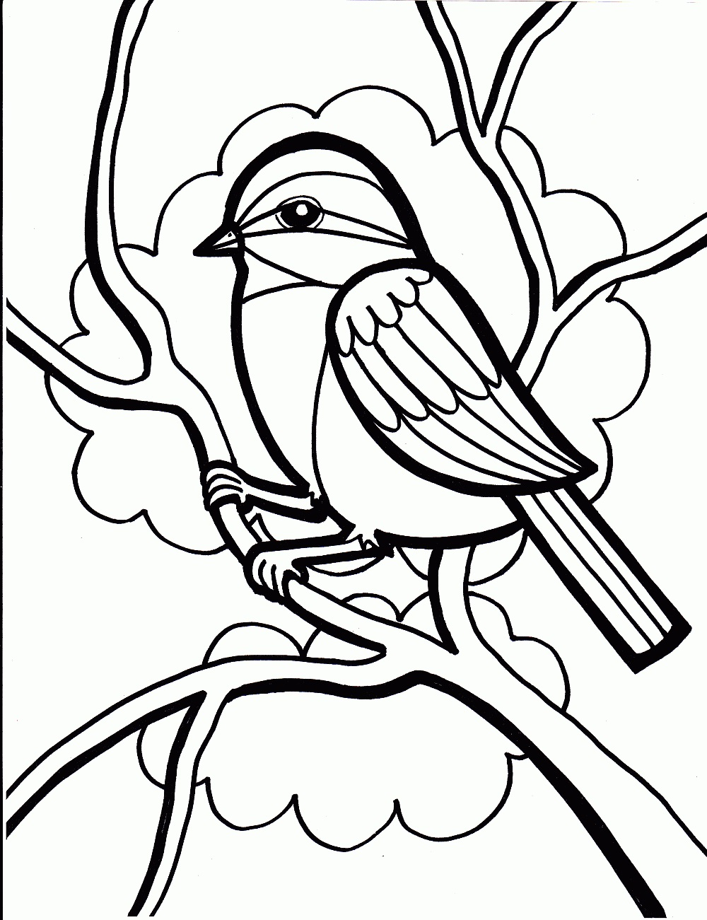 1000x1301 Perfect Coloring Page Of A Bird Coloring For Tiny Parrot Coloring