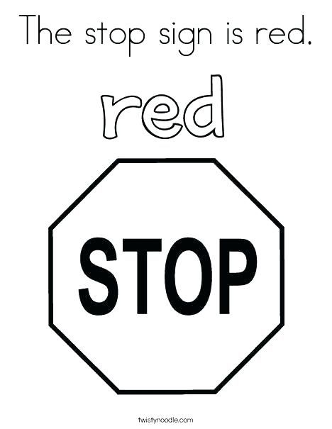 468x605 Red Coloring Page Red Coloring Page Red Coloring Pages The Stop