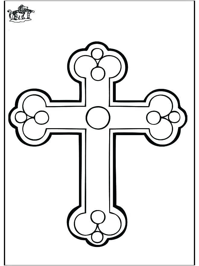 660x880 Coloring Pages Of Crosses Cross Coloring Pages Cross Coloring