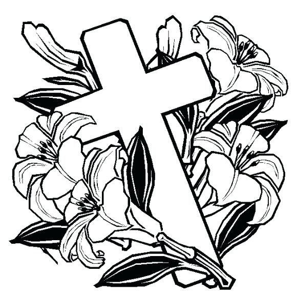 580x580 Cross Coloring Pages Beautiful Cross Coloring Pages In Coloring