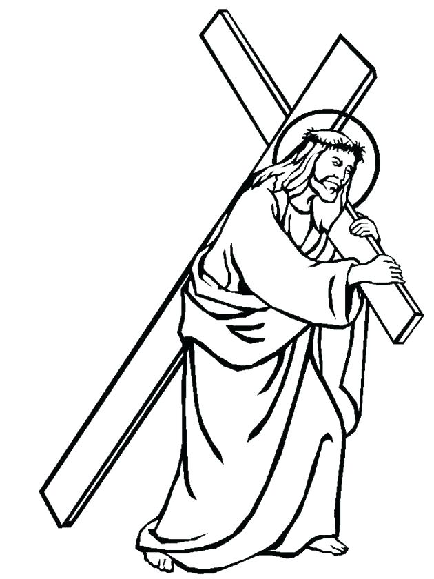 630x840 Free Cross Coloring Pages Free Cross Coloring Pages Free Cross