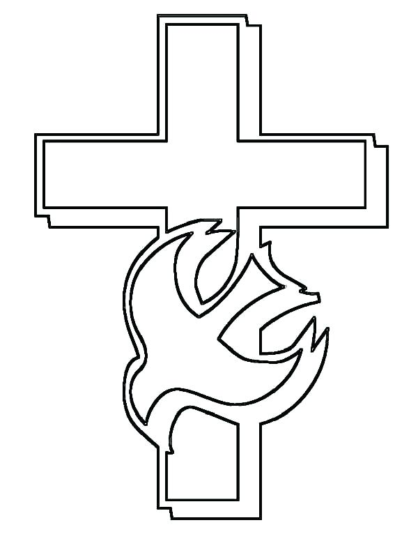 600x776 Coloring Page Cross Cross Color Page Cross Coloring Pages Red