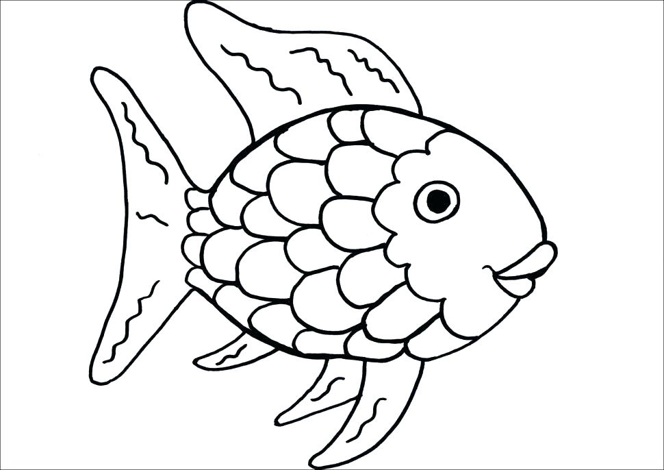970x686 One Fish Two Fish Red Fish Blue Fish Coloring Pages Fish One Fish