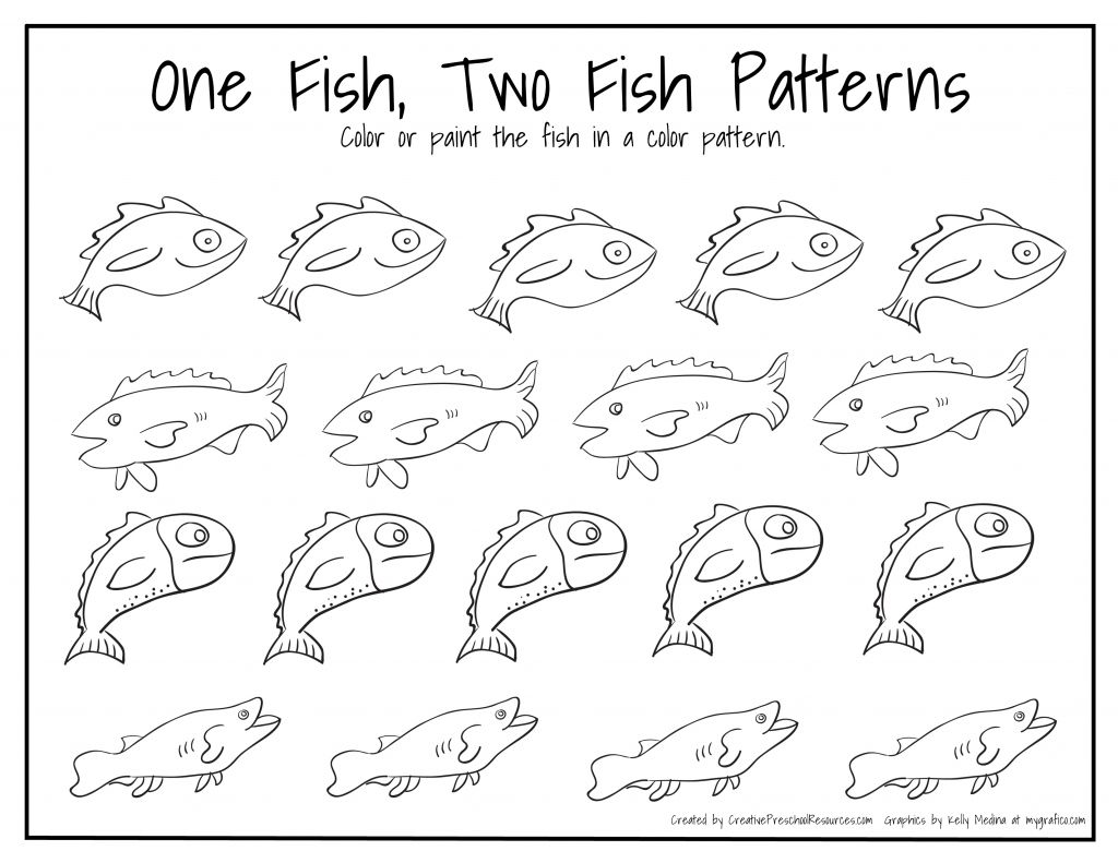 1024x791 Dr Seuss Birthday March Fish Patterns School And Red Fish Red