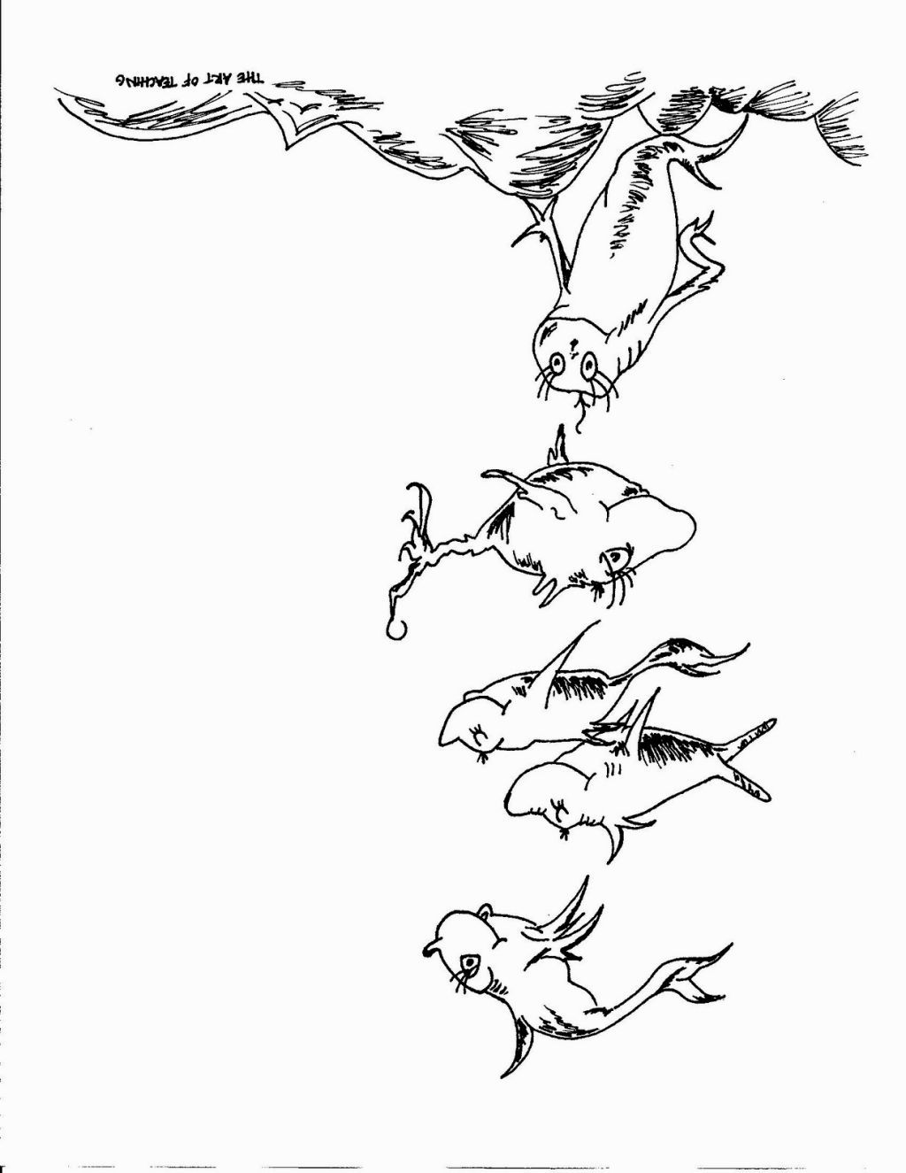 1024x1325 Dr Seuss Coloring Pages One Fish Two Fish Coloring Pages