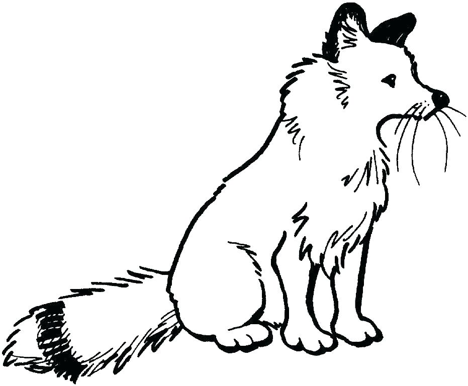 931x768 Fox Coloring Pages Fox Coloring Pages Red Fox Coloring Pages Fox