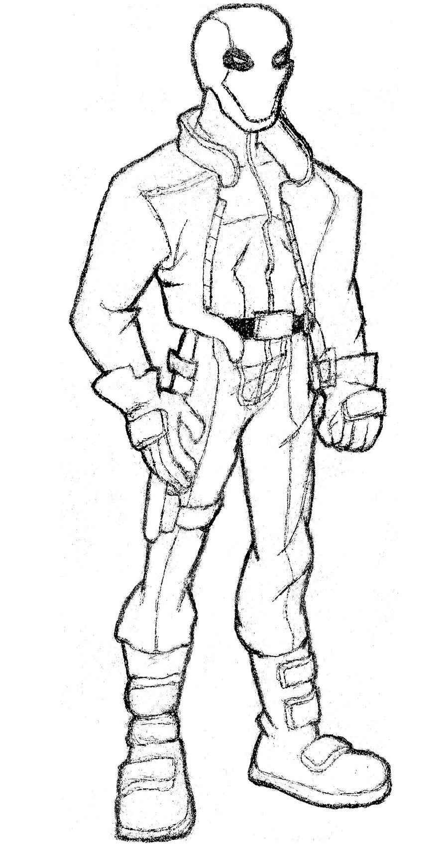 900x1697 Red Hood Coloring Pages