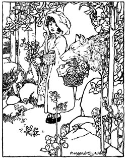 250x315 Red Riding Hood Coloring Pages