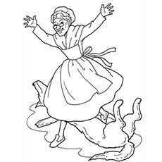 230x230 Top Free Printable Little Red Riding Hood Coloring Pages Online